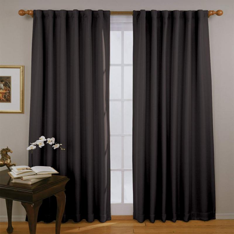 """eclipse blackout curtains for bedroom  fresno 52"""""""