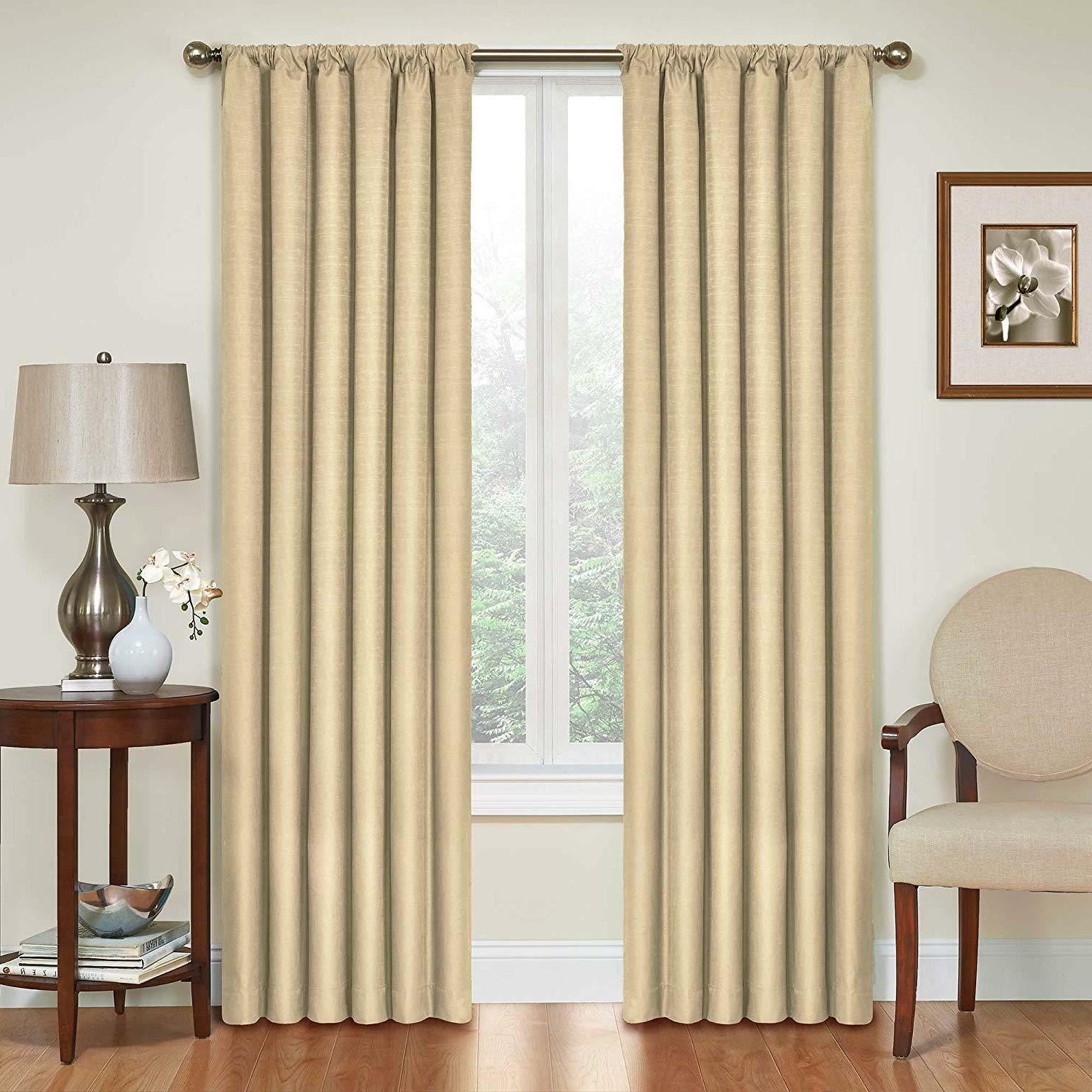 eclipse blackout curtains thermal curtain single panel