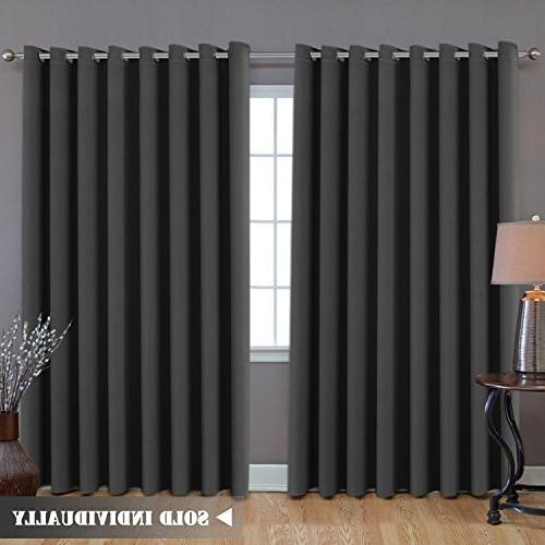 extra long wide blackout curtains