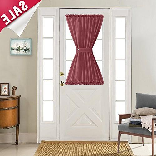 french door panels privacy