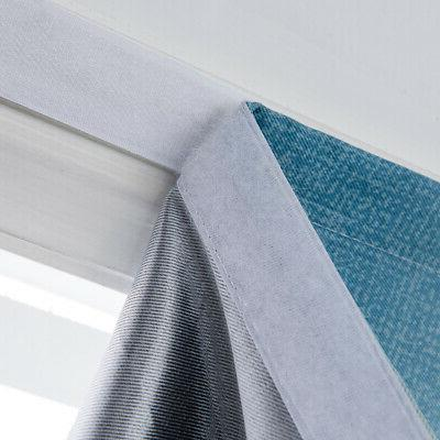 Gradient Color Curtains Bedroom