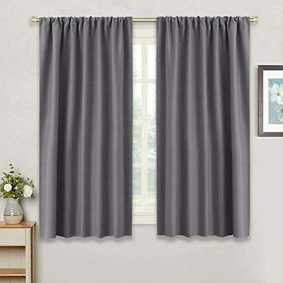 gray blackout curtains