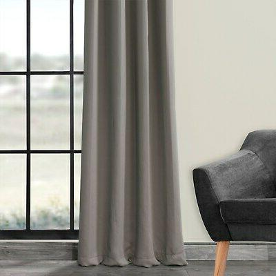 Exclusive Blackout Curtain Neutral Grey 50 108