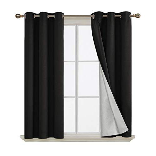 grommet blackout curtains thermal insulated
