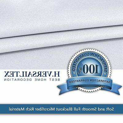H.VERSAILTEX Curtains Blackout Thermal Insulated Curtain