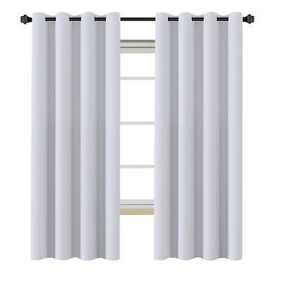 h versailtex white curtains blackout thermal insulated