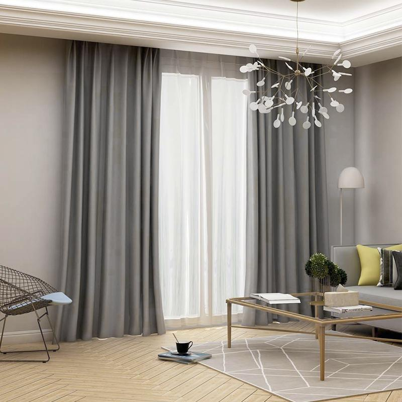 High For Bedroom Modern Insulating Living Room Treatment Drapes