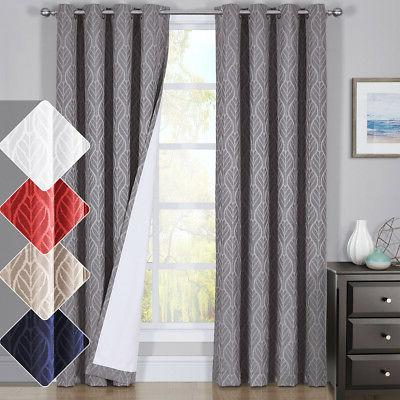 hilton window treatment thermal insulated grommet blackout