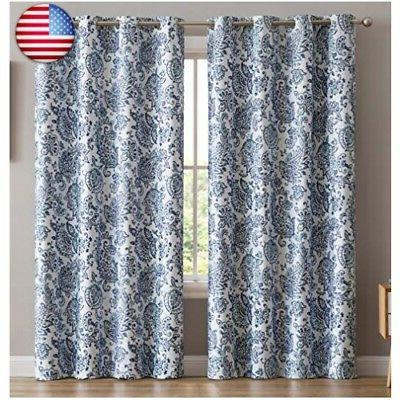 HLC.ME 100% Blackout Lined Curtain