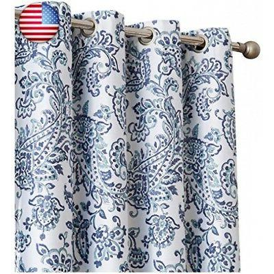 HLC.ME Blackout Lined Curtain