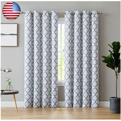 hlc me lattice print thermal insulated room