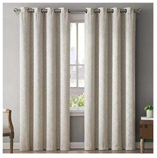HLC.ME 2 Blackout Panel w/ Grommets Ivory