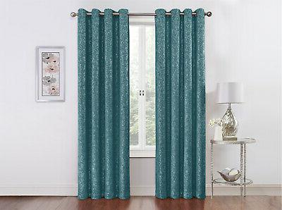 Regal Metallic Thermal Grommet Curtains - Assorted Colors