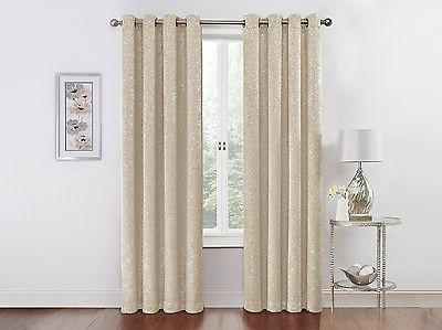 Regal Metallic Thermal Curtains - Assorted