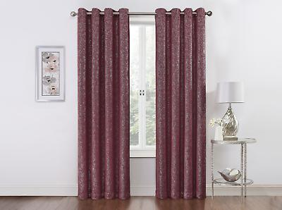 Regal Home Metallic Thermal Grommet Blackout Curtains - Assorted