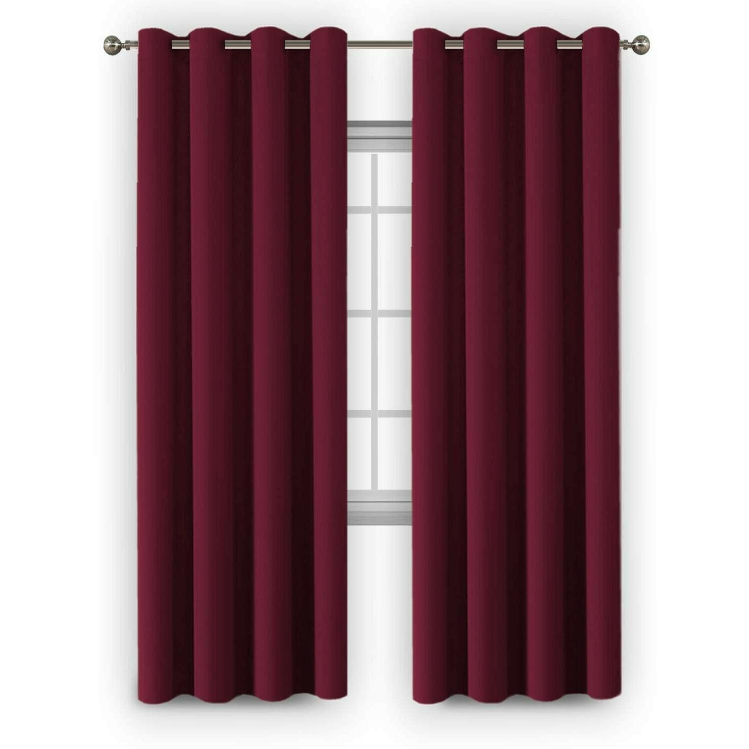 Flamingo P Insulated Blackout Drapes Window x 96
