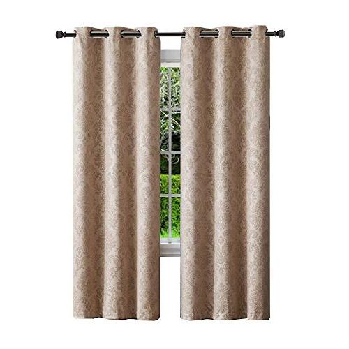 insulated thermal blackout curtains