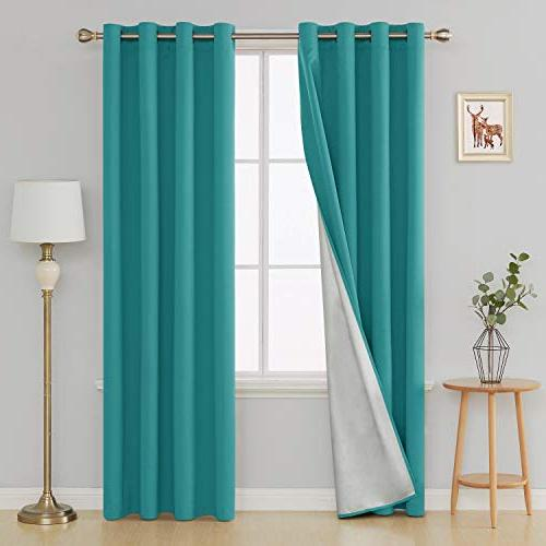 light blocking thermal insulated drapes