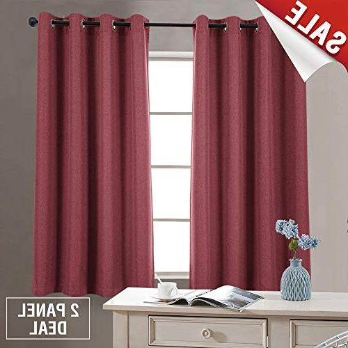 linen fabric curtains living room