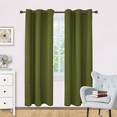 living room blackout window curtains