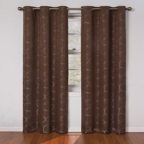 meridian blackout window curtain panel