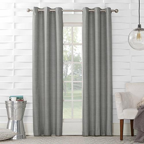 mirage thermal lined grommet curtain