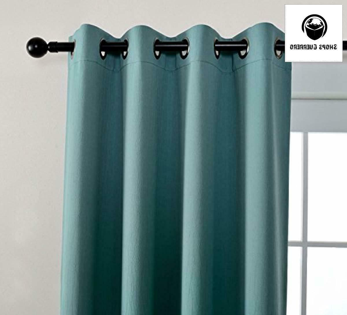 Miuco Blackout Room Darkening Curtains Curtains for