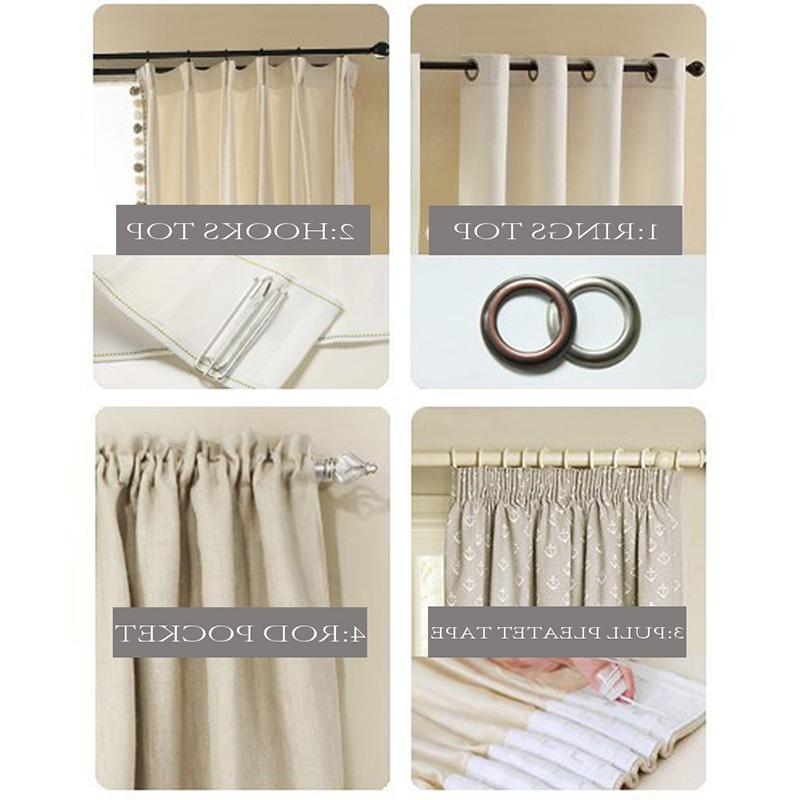 ENHAO <font><b>Blackout</b></font> <font><b>Curtains</b></font> for Living Room Window Thick Fabric Blind