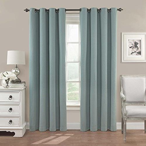 nadya solid blackout window curtain