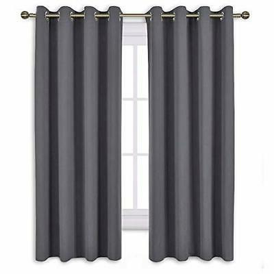 NICETOWN Bedroom Blackout Curtains Panels - Thermal Insulated