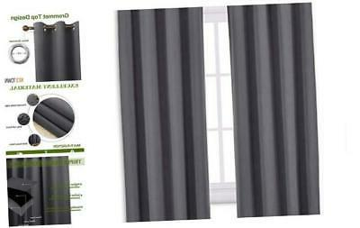 nicetown bedroom blackout curtains panels window treatment
