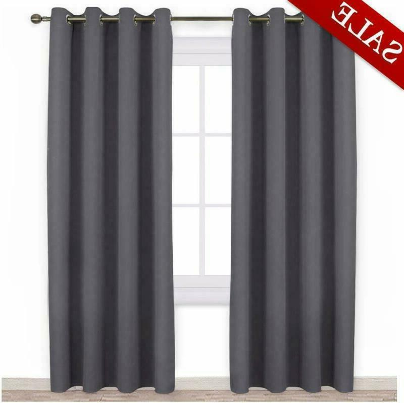nicetown blackout curtains panels for bedroom 3