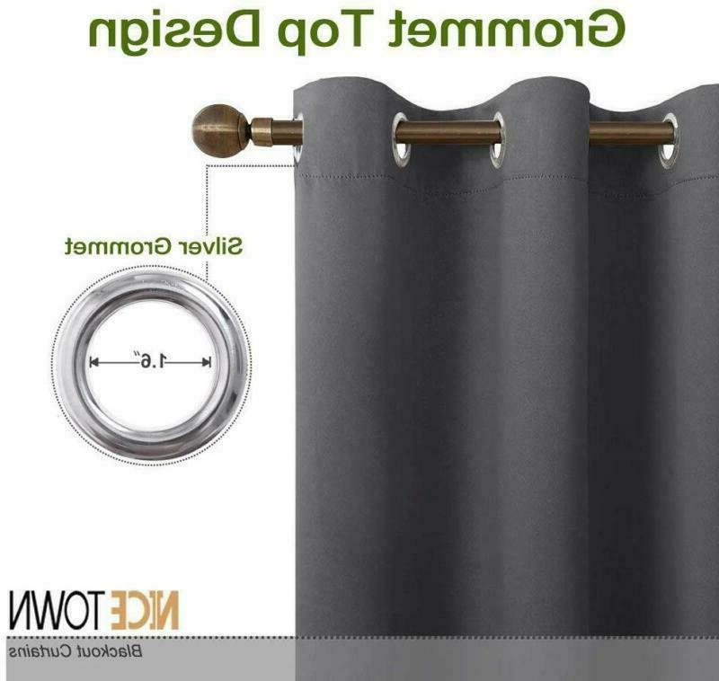 Nicetown Insulated Grommet Blackout For (2 W42