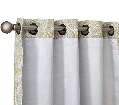 HLC.ME Thermal Blackout Curtain Panels - Pair -