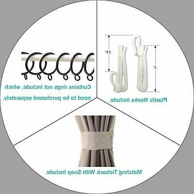 ChadMade Pinch Pleated Curtain Solid Thermal Blackout