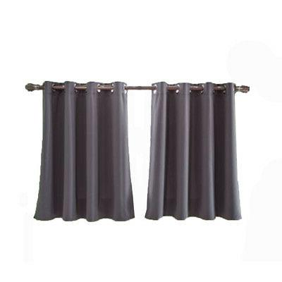 Polyester Cafe Pleated Drape