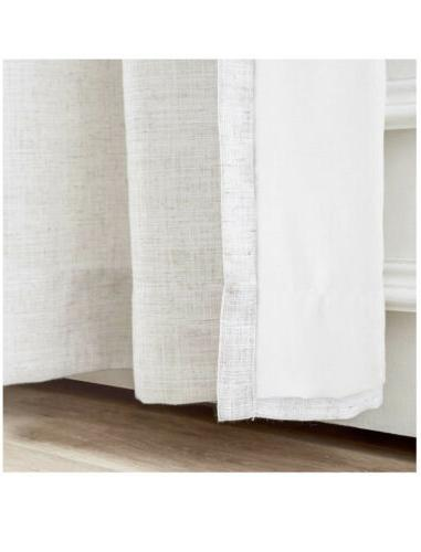 "ChadMade Curtain, Panel, W x 96"" Beige"