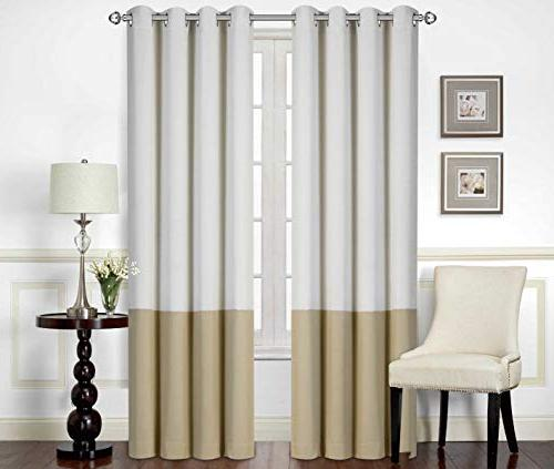 Pack of Bedding Printed Room Darkening Curtain - Window 2 - Panel - 52 Inches Wide by 84 Inches Long -
