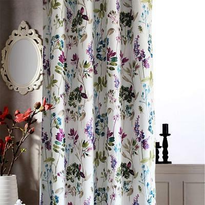 Anady Leaf Curtains Drapes Grommet Top
