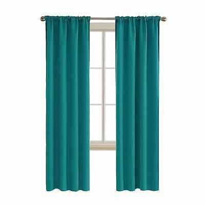 room darkening blackout curtains rod pocket thermal