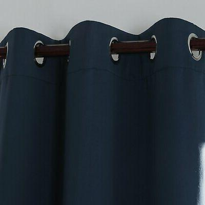 Deconovo Room Darkening Curtain Thermal Blackout Curtains for