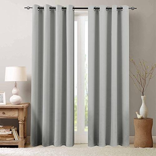 room darkening draperies thermal insulated
