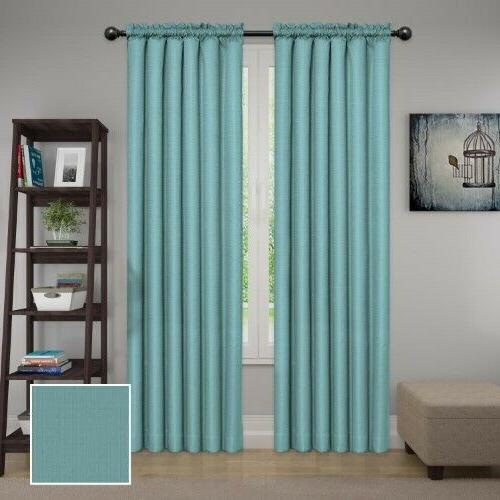 "Eclipse Samara Blackout Energy-Efficient Curtain 42"" X 84"" S"