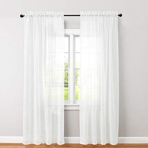 sheer window curtains