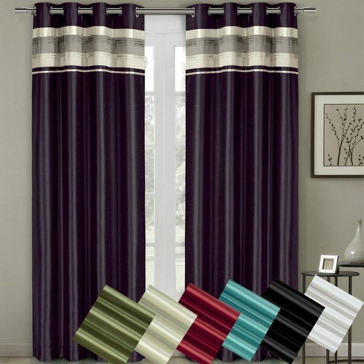 sophisticated milan lined polyester blackout curtains