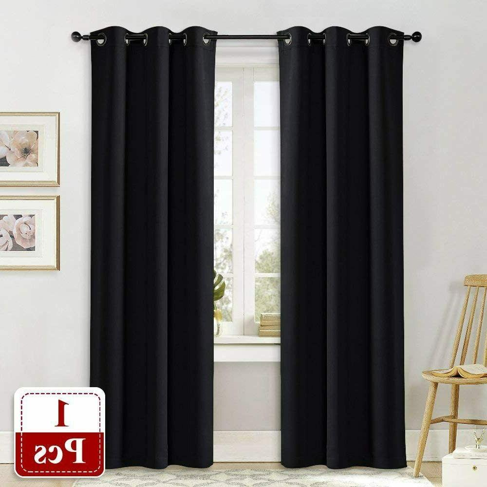 Soundproof Thermal Curtain Solid Grommet Panel
