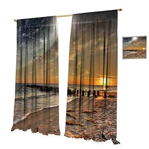 space thermal insulating blackout curtain