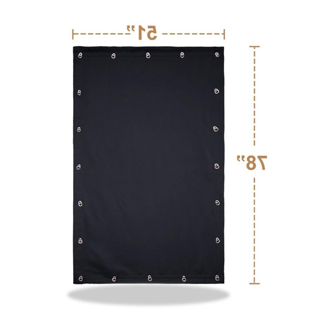 Suction Cup Folding Roof <font><b>Curtain</b></font> Bedroom Sun Portable Easy Install <font><b>Blackout</b></font>