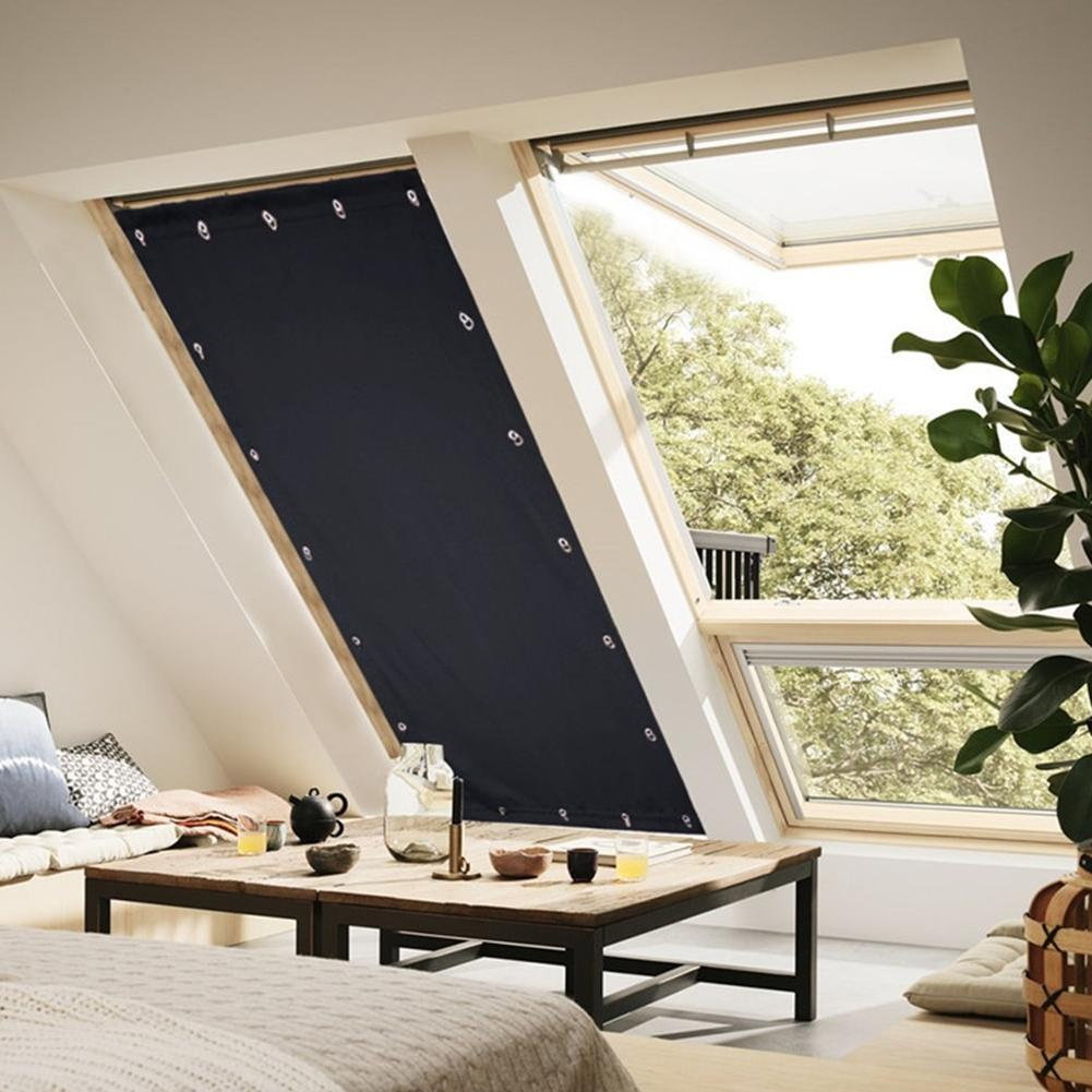 Suction Roof <font><b>Curtain</b></font> Bedroom Home Sun Portable Install <font><b>Blackout</b></font>