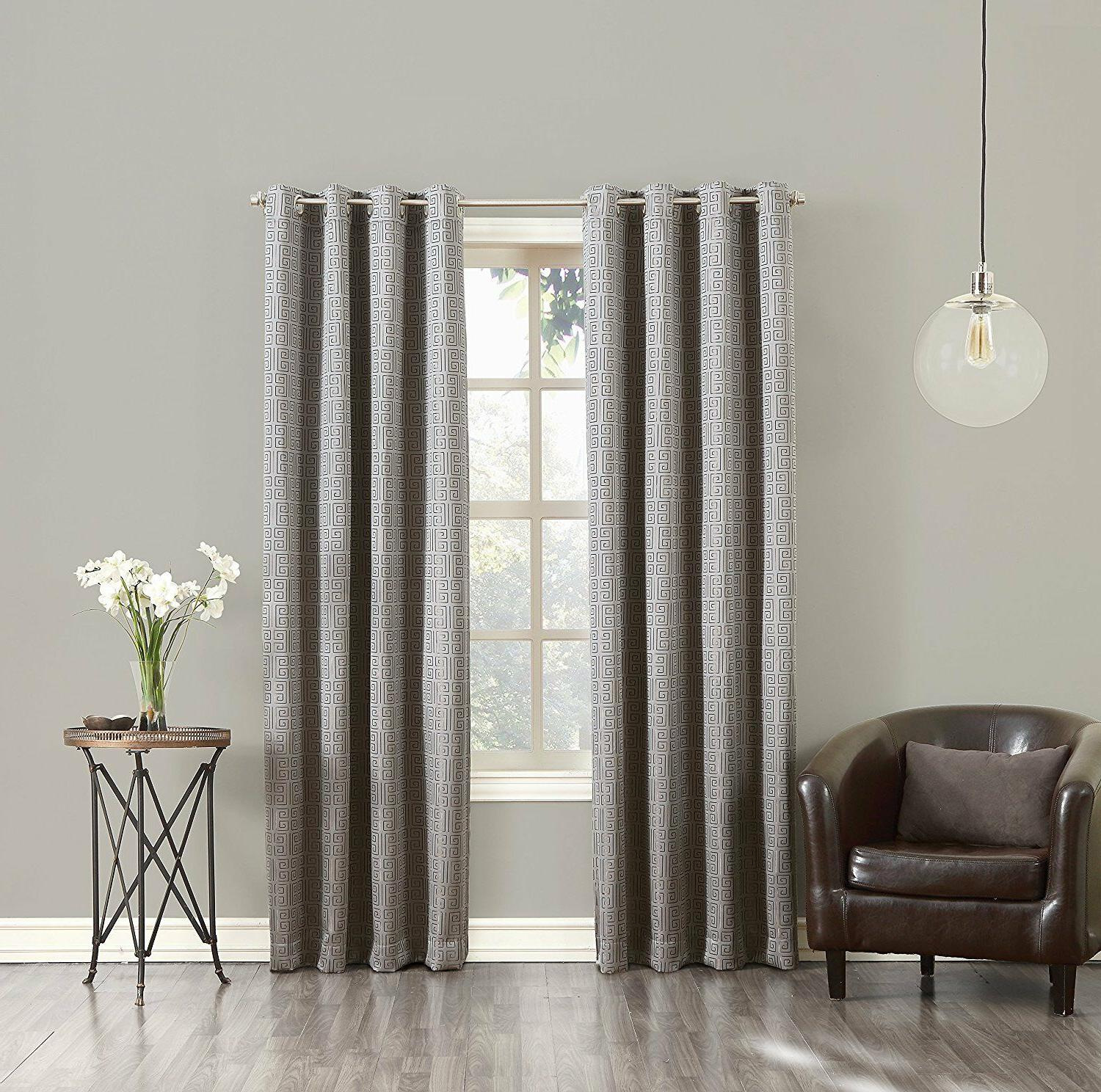 theodore blackout lined single curtain panel 52